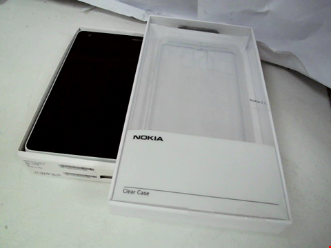 Lot 112 NOKIA 2.1 GREY/SILVER WITH CASE