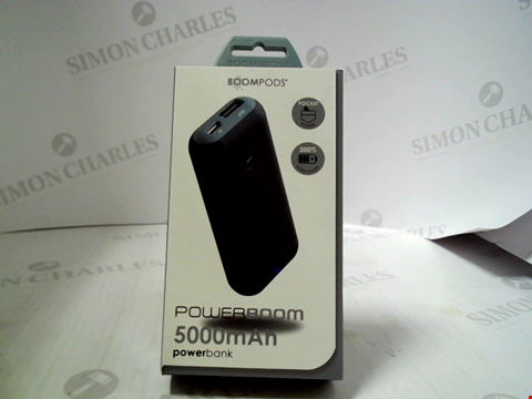 Lot 380 BRAND NEW BOOMPODS POWERBOOM 5000MAH POWERBANK
