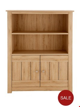Lot 2013 BOXED GRADE 1 OAK-EFFECT OSCAR DISPLAY UNIT (1 BOX)  RRP £219