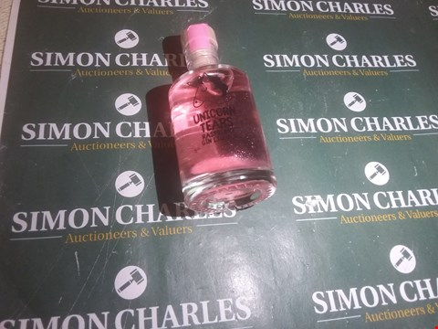 Lot 5289 LOT OF 1 ITEM TO INCLUDE UNICORN TEARS MINATURE GIN RASPBERRY LIQUEUR RRP £42.00