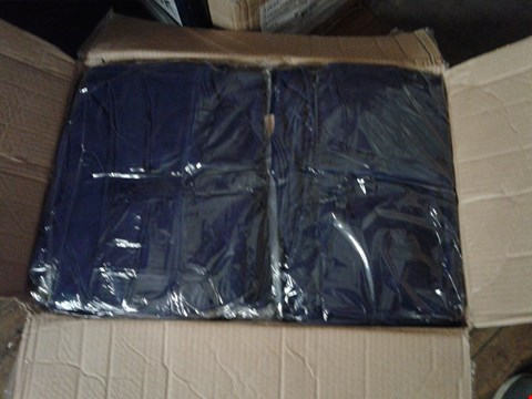 Lot 1377 A BOX OF APPROXIMATELY 50 GIRL'S CARDIGANS - NAVY