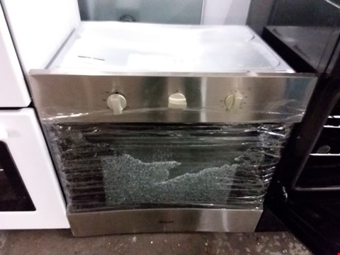 Lot 3168 SWAN SXB75240B 60CM BUILT IN GAS OVEN IN STAINLESS STEEL