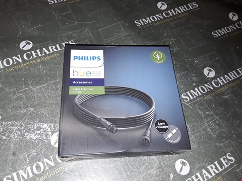 Lot 1336 PHILLIPS HUE 5M CABLE EXTENSION