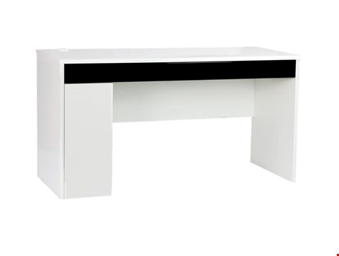 Lot 57 COLORADO WORKSTATION BLACK/WHITE RRP £168
