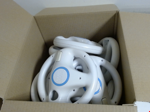 Lot 7738 QUANTITY OF APPROXIMATELY 13 WII WHEELS GAMING ACCESSORIES