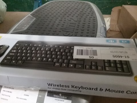Lot 1068 4 × BOXED WIRELESS KEYBOARD AND MOUSE COMBOS