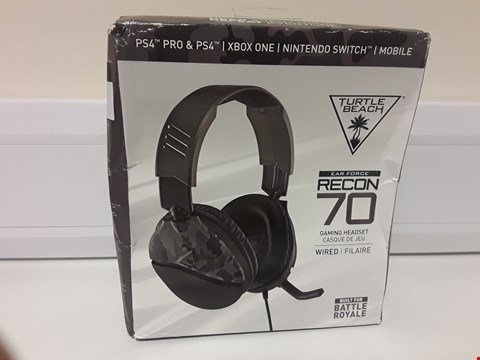 Lot 1431 BOXED & SEALED TURTLE BEACH RECON 70 BATTLE ROYAL WIRED GAMING HEADSET
