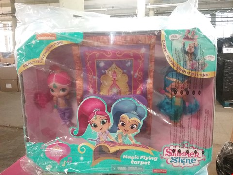 Lot 2186 SHIMMER & SHINE MAGIC FLYING CARPET - GRADE 1 RRP £49