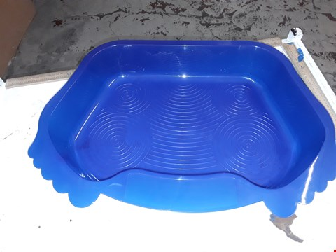 Lot 14029 BLUE RESIN FOOT BATH CONTAINER
