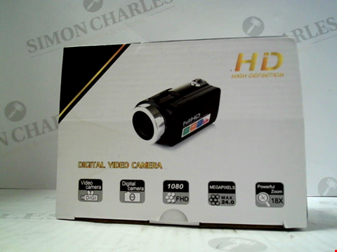Lot 5624 BOXED HD DIGITAL VIDEO CAMERA