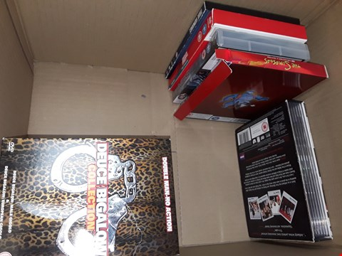 Lot 12055 APPROXIMATELY 20 DVDS BOX SETS AND DVDS TO INCLUDE  ,TOY STORY,  FAMILY GUY  ,DARK ANGEL ,GOSSIP GIRL & MORE