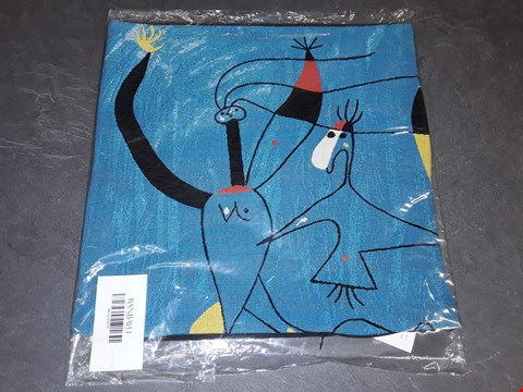Lot 8158 BRAND NEW 45X45CM  SUCCESSIO JOANMIRO ABSTRACT CUSHION COVER
