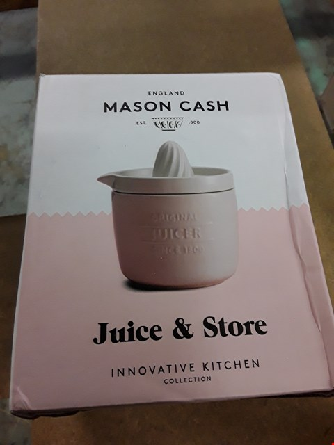Lot 11049 GRADE 1 ITEMS TO INCLUDE INNOVATIVE KITCHEN JUICER & STORE RRP £20