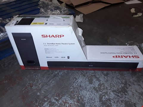 Lot 1392 SHARP 2.1 SOUNDBAR