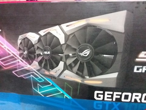 Lot 12018 ASUS GEFORCE GTX 1080 GRAPHICS CARD