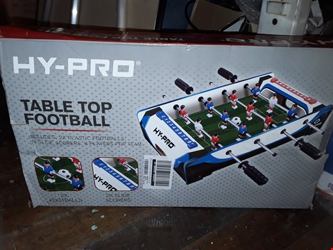 Lot 5075 BOXED 20 INCH TABLE TOP FOOTBALL TABLE  RRP £24.99