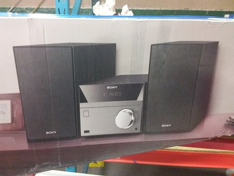 Lot 18 SONY CMT-SBT40D HOME AUDIO SYSTEM