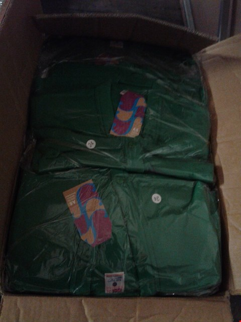 Lot 1466 A BOX OF APPROXIMATELY 50 GIRL'S CARDIGANS - GREEN