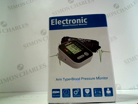 Lot 5689 BOXED ELECTRONIC BLOOD PRESSURE MONITOR
