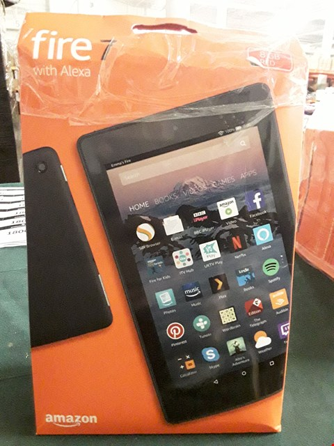 "Lot 18027 AMAZON FIRE 7"" WITH ALEXIA RED RRP £64.99"