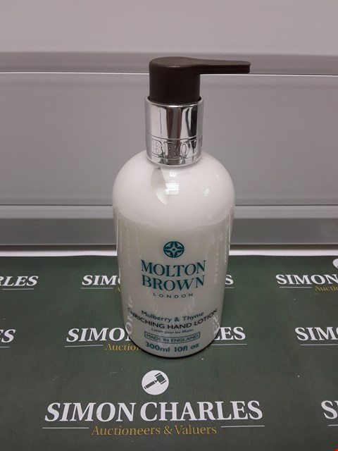 Lot 186 MOLTON BROWN MULBURRY & THYME HAND LOTION
