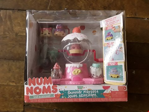 Lot 2335 LOT OF 3 GRADE 1 ITEMS TO INCLUDE POP AND PLAY ELEPHANT TYPHOON BREAD BIN AND NUM NOMS SHIMMER PLAYSET RRP £96