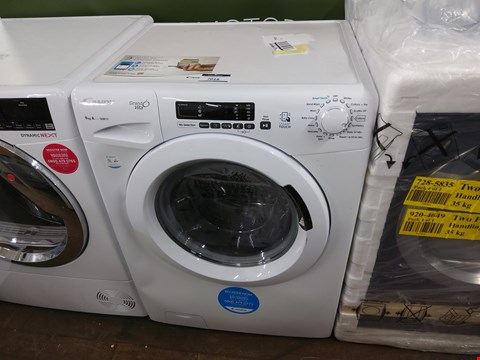 Lot 7018 CANDY GRAND'O VITA GVS169D3 9KG LOAD, 1300 SPIN WASHING MACHINE - WHITE RRP £399.99