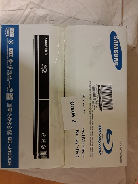 Lot 2033 BOXED SAMSUNG BLU-RAY PLAYER BD-J4500R RRP £87.99