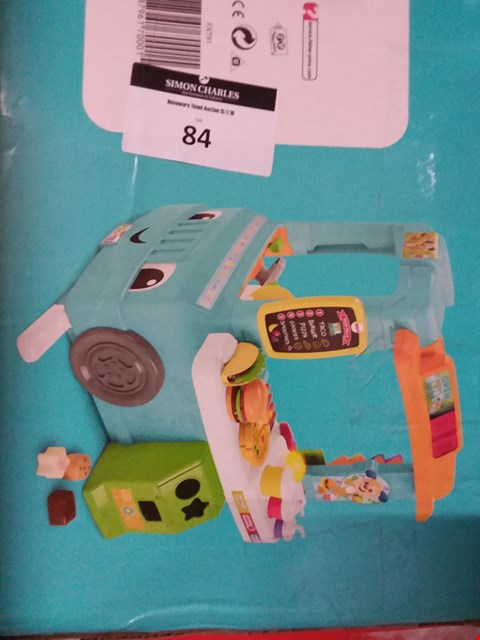 Lot 84 FISHER PRICE SERVIN' UP FUN FOOD TRUCK