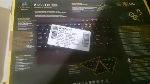 Lot 96 CORSAIR K85 LUX RGB