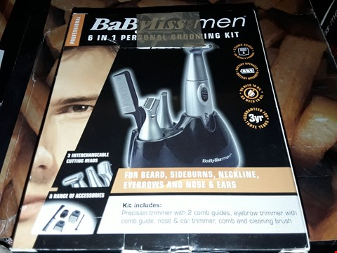 Lot 3583 BABYLISS FOR MEN 6 IN 1 GROOMING KITS