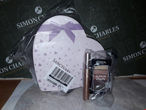 Lot 14502 L'OREAL PARIS ELECTRIC NIGHTS GIFT SET + SANCTUARY NEW MUM BOX OF TREATS RRP £50.00