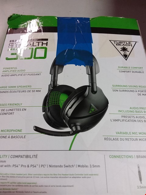 Lot 12222 TURTLE BEACH STEALTH 300 AMPLIFIED GAMING HEADSET - XBOX ONE
