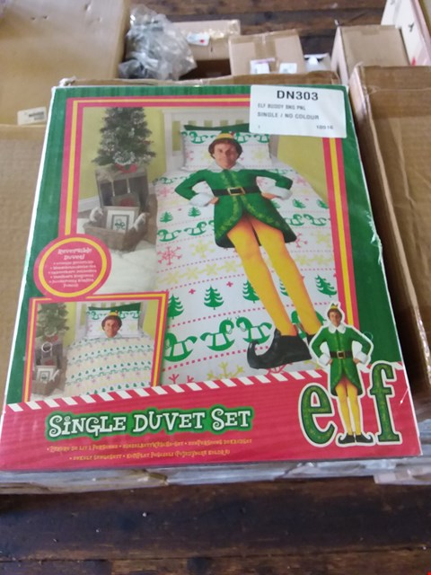 Lot 68 LOT OF 4 BOXES OF ELF BUDDY BEDDING SETS APPROX 24