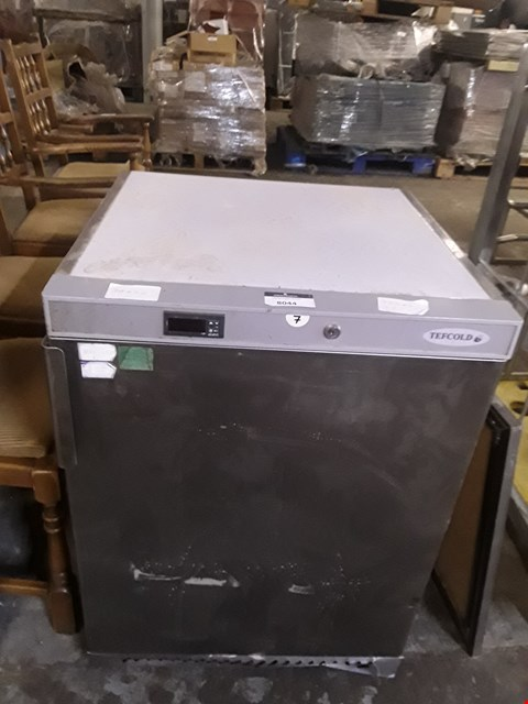 Lot 8044 TEFCOLD COUNTER FREEZER
