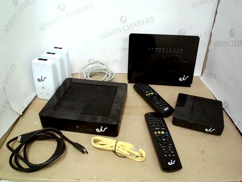 Lot 10568 EIR ROUTER AND TV BOX SET