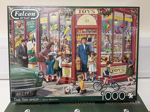 Lot 1413 BOXED SEALED FALCON DELUXE THE TOY SHOP JIGSAW PUZZLE