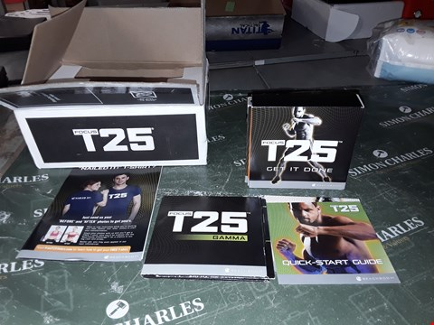 Lot 1289 FOCUS T25 WORK OUT DVDS