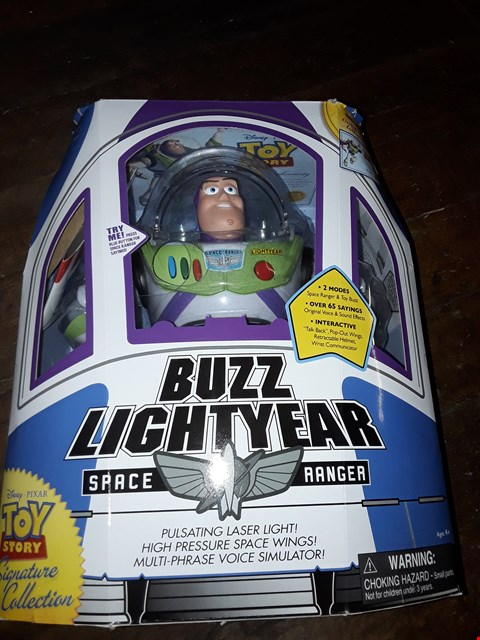 Lot 4099 BUZZ LIGHT YEAR WITH MOVING HEAD TOY STORY  RRP £99.00