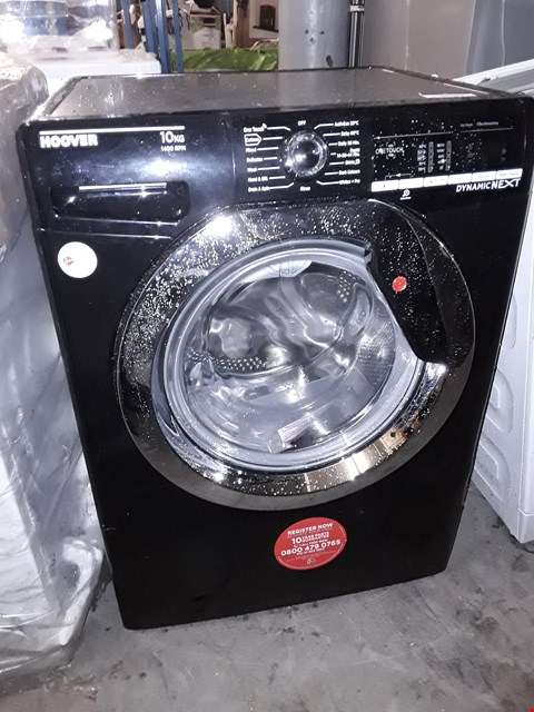 Lot 10007 HOOVER DXOA410C3B DYNAMIC NEXT 10KG WASHING MACHINE  RRP £399.00