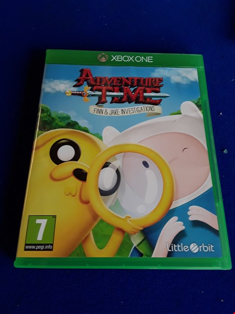 Lot 7662 ADVENTURE TIME  XBOX ONE GAME