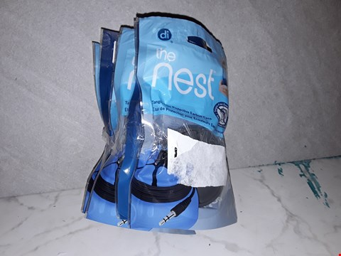 Lot 6202 LOT OF 6 THE NEST EARBUD CASES