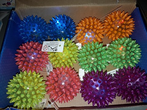 Lot 526 NEON FLASHING BALLS