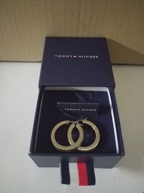 Lot 13010 BOXED PAIR OF TOMMY HILFIGER EARRINGS