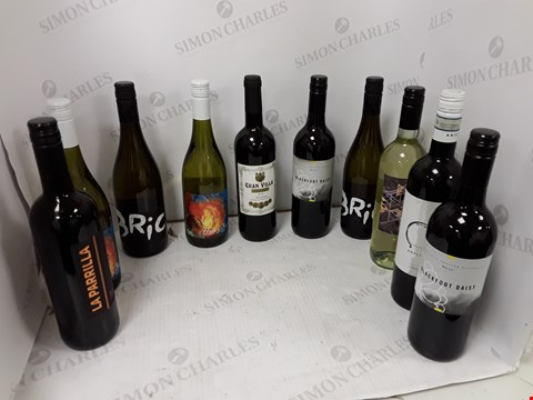 Lot 9042 VEGAN WINES MIXED CASE RRP £157.99