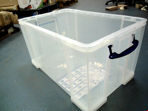 Lot 15273 REALLY USEFUL STORAGE 84L CONTAINER
