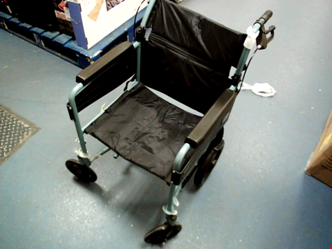 Lot 5016 DAYS ESCAPE WHEELCHAIR, LITE ALUMINIUM, LIGHTWEIGHT AND FOLDABLE FRAME