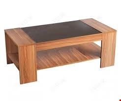 Lot 7083 BOXED HOLLYWOOD WALNUT/BLACK GLOSS COFFEE TABLE ( 1 OF 1 BOXES )