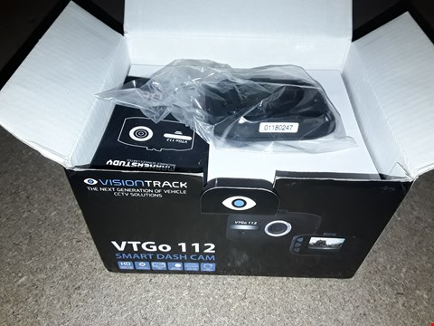 Lot 3012 BOXED VISION TRACK VTGo122 DASH CAMERA
