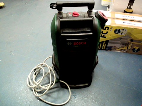 Lot 5131 BOSCH FONTUS 06008B6070 CORDLESS OUTDOOR PRESSURE WASHER CLEANER, WITH 15 LITRE WATER TANK